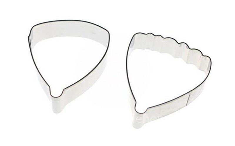1 Set Pansy Fleur Forme en acier inoxydable Cookie Cutters Fondant Mold Décoration Outil