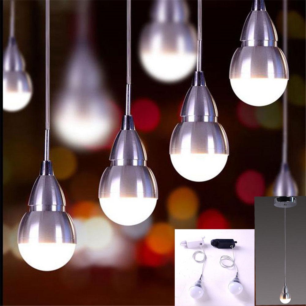 Best Modern Led Hanging Track Lighting 3w Wire Pendant