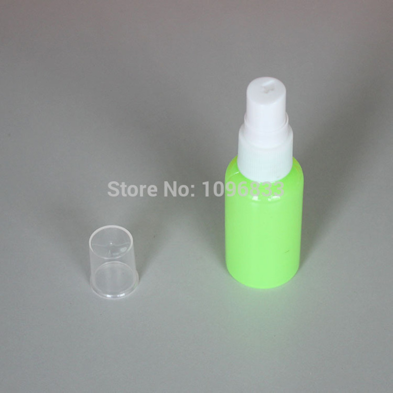 30ml 30cc Plastic Atomizer Spray bottle Cosmetic Make up water Replenishing Supplemental Refillable Pump Bottle 100pcs