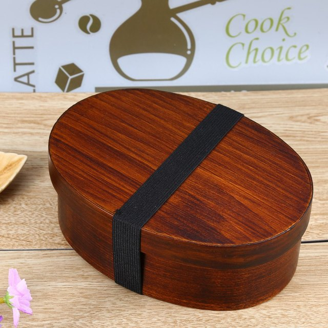 Natural wooden Lunch box cool food gadgets