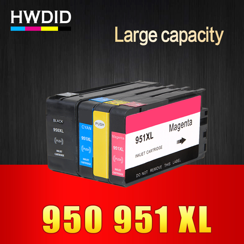 HWDID Compatible Ink Cartridge Replacement for HP 950 951 xl for HP Officejet Pro 8600 8620 8630 276dw 8640 8660 8615 8625 251dw kinetics пилка для натуральных ногтей 180 180 white turtle