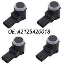 4PCS A2125420018 0263013999 PDC Parking Sensor For Mercedes Benz W212 W204 W221