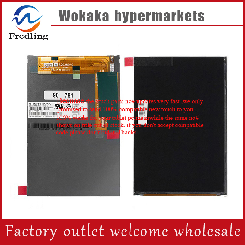 New 7 Inch Replacement LCD Display Screen For Ainol Novo 7 Venus tablet PC Free shipping недорго, оригинальная цена