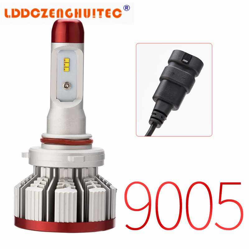 LDDCZENGHUITEC H7 H4 LED Bulb Car Headlight H11 H1 H13 H3 H27 9005 HB3 9006 HB4 9007 Hi Lo Beam 64W 6000LM Auto Headlamp LEDs in Car Headlight Bulbs LED from Automobiles Motorcycles