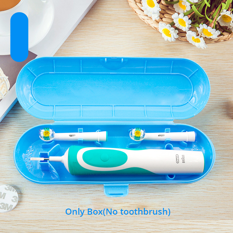 Portable Travel Case Oral B Electric Toothbrush Handle Storage High Quality Plastic Made Anti-Dust Cover Tooth Brush Holder Box
