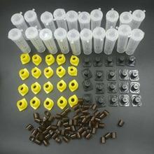 1 Набор, инструменты для пчел, клетки, королевские, Cupkit, система, пчеловодство, ловушка для пчеловодства, коробка, клетка, чашки, никот, полный комплект, Apicultura
