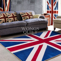 America Printed Home Textile Carpet Thickening Sitting Room Parlor Living Room Non Slip Odourless 2Sizes Free