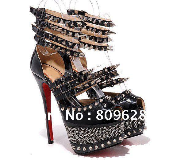 c72c8ef58280 Daffodil Limited edition black leather sandals