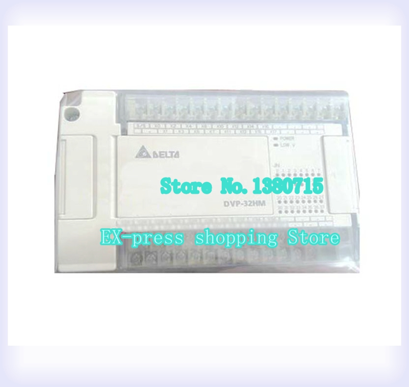 New Original DVP32HM11N PLC Digital module EH2 series 24VDC 32DI new original dvp08hn11t plc digital module eh2 series 24vdc 8do transistor output