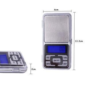 Image 3 - Przez DHL/Fedex 50 sztuk/partia 1000g x 0.1g Mini 1 kg elektroniczny 5 klawiszy kieszonkowy skala LCD wyświetlacz cyfrowy biżuteria waga waga 30% off