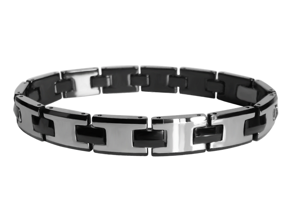 Christmas Present Tungsten Carbide Bracelets With Black Plating Tubr1022 In Wrap From Jewelry Accessories On Aliexpress Alibaba Group