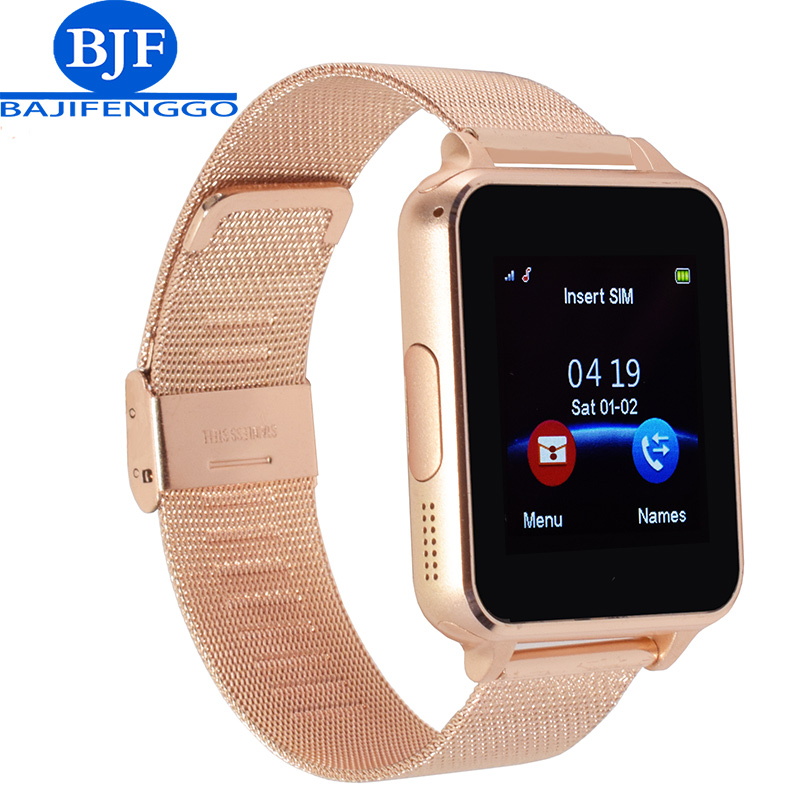 Bluetooth Smart Watch support SIM TF Card Smartwatch For Android phone whatsapp PK DZ09 Q18 V8 steel Straps for Samsung xiaomi