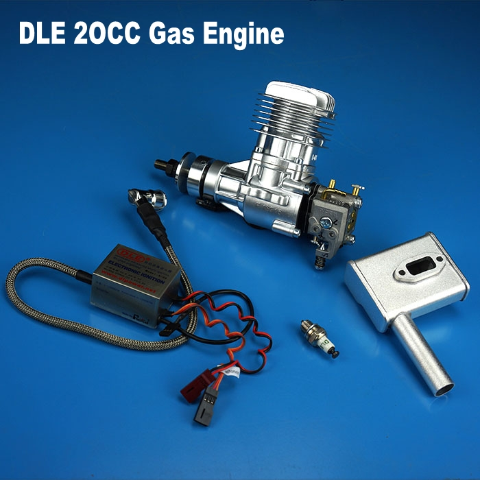 100 Original DLE20 20CC GAS Gasoline Engine For RC Airplane Model 20CC Gas Motor Free Shipping