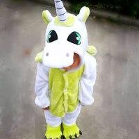 Vanled 2017 Baby Boys Girls Unicorn Children Pajama Sets Flannel Stitch Animal Pajamas Kids Pajama Sets