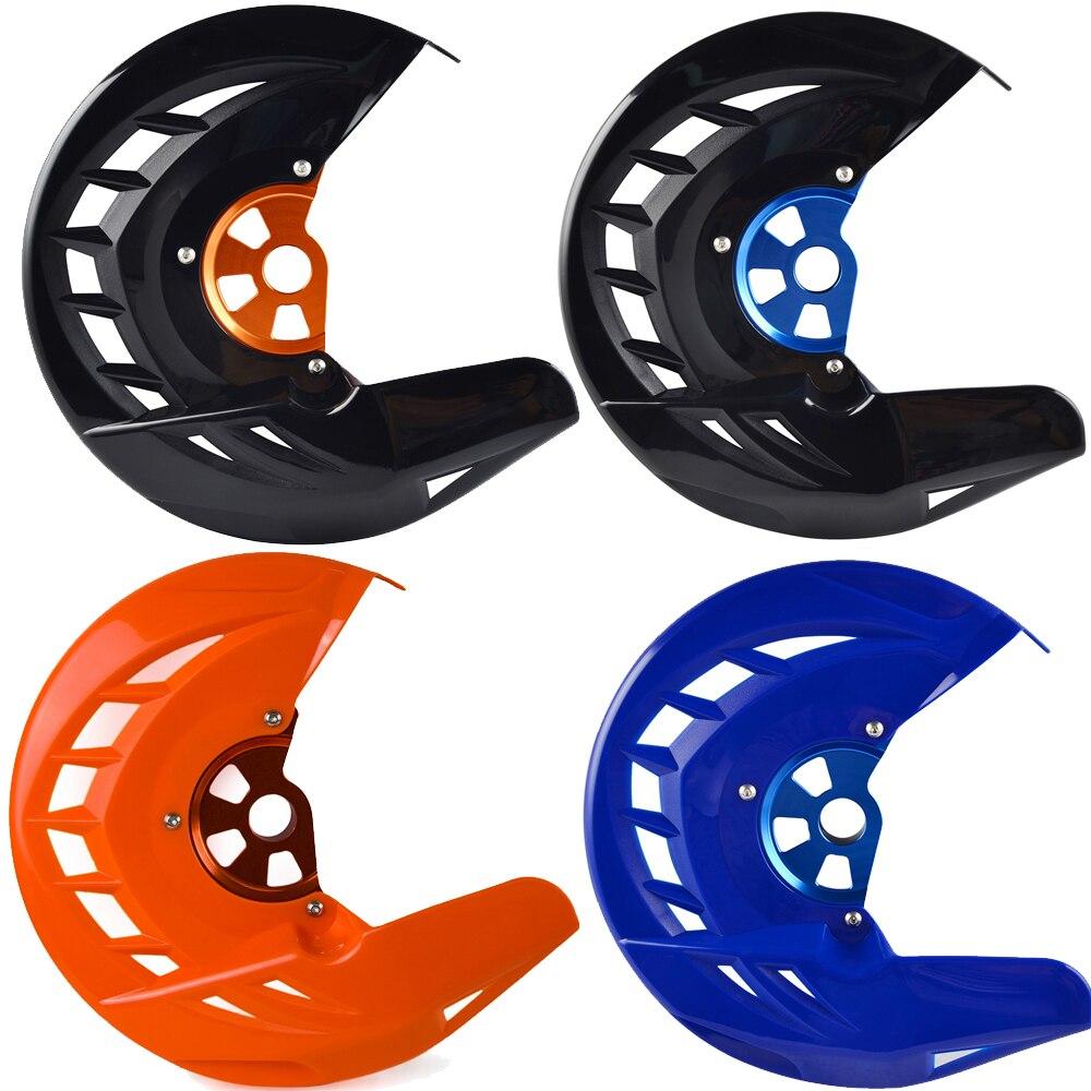 Front Brake Disc Guard For Husqvarna Husaberg TE FE TC FC TX FX FS 125 150 200 250 350 390 450 501 For KTM SX EXC XC SXF EXCF