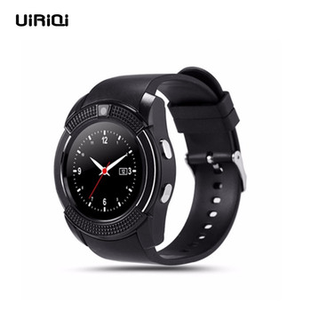 UiRiQi Smart Watch With SIM TF Card Port Bluetooth Touch Screen Android Waterproof Sport Men Women Business Smartwatch VS DZ09