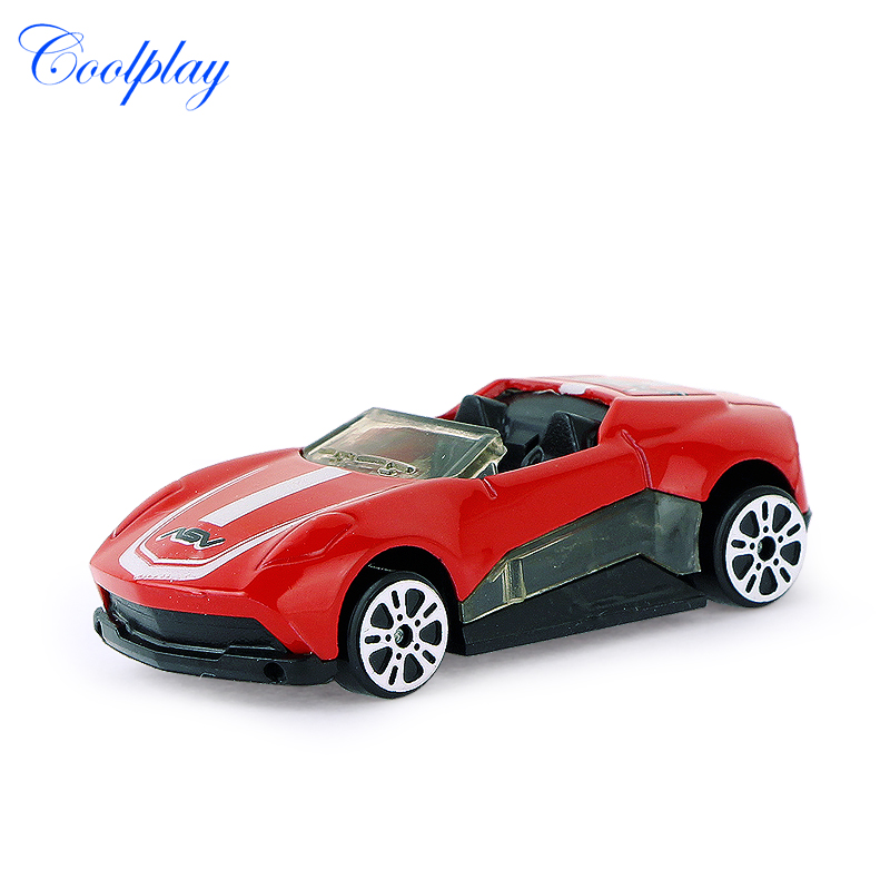 6 Pcs Racing Alloy Car Model Mini Car Combinations Colorful Toy
