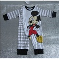 Venda quente Mickey Macacão de Bebê roupas de Bebê de Alta Qualidade bebê menino macacão recém-nascidos roupa bebe infantil traje