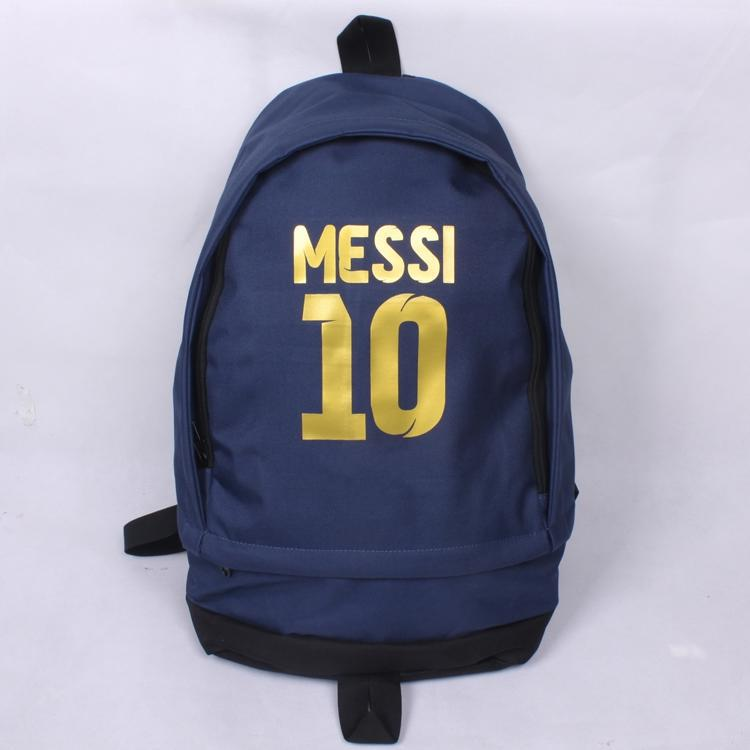 Free Shipping High Quality New Fashion Messi Soccer Football Backpack Boy Girl School Bag Computer Canvas Backpacks free shipping european football club football star messi portrait wallpaper mural