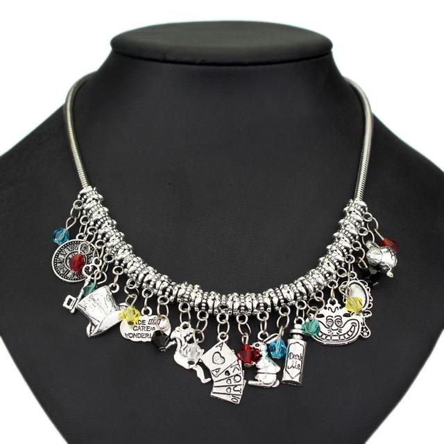 Alice in Wonderland Choker Necklace