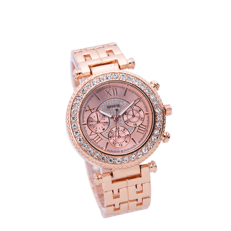 Good quality alloy trendy ladies watches stainless steel ip golden plating quartz wristwatches lovers gift creative good quality style reloj de pulsera watches women ladies crystal golden alloy mesh band elegant quartz wrist watches