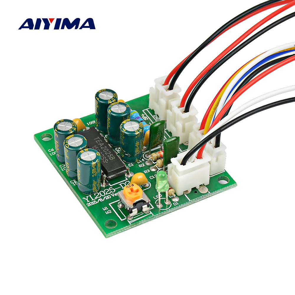 High Quality Tda7377 Power Amplifier 21 Diy Kit 3 Channel Sound Home Theater Wiring Aiyima Mini Btl Amplifiers Audio Board Tea2025b 6w Amplificador For System