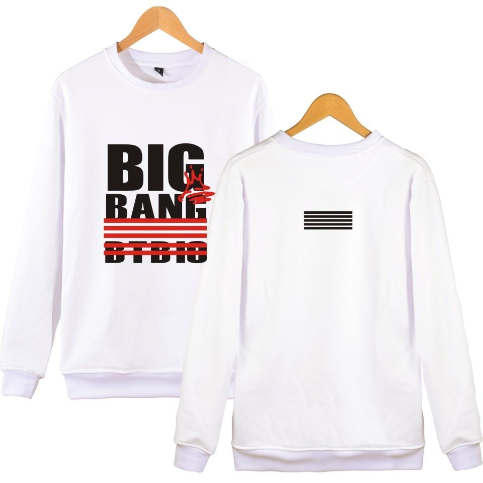 Hoodies Men Bigbang Brand Designer Sweatshirt Game Print Clothes Winter Kpop Style Size XXS To 4XL