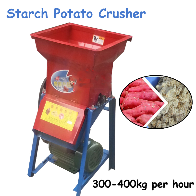 Household Starch Machine Tapioca Sweet/ Starch Potato Crusher Flour Milling Machine SMJ-800 optimization of citric acid production from potato starch hydrolyzate
