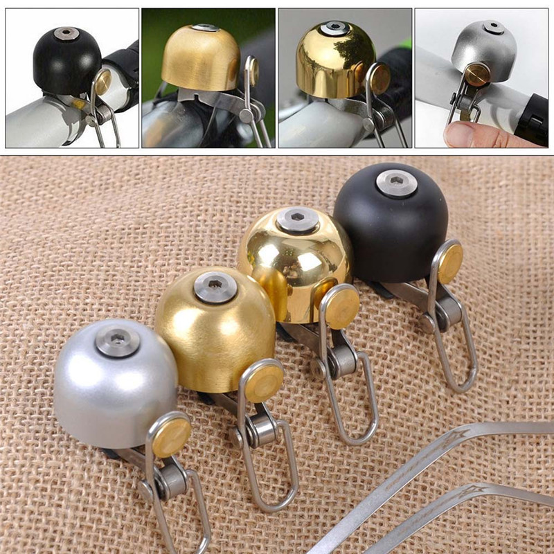 Cycling Bell Stainless Steel Bicycle Bell Bike Sound Handlebar Classical Ring Horn Safety Sport Alarm Bell Bicycle Accessory west biking bicycle bell pure copper bike sound handlebar ring horn safety alarm bell timbre bicicleta accessories bicycle bell