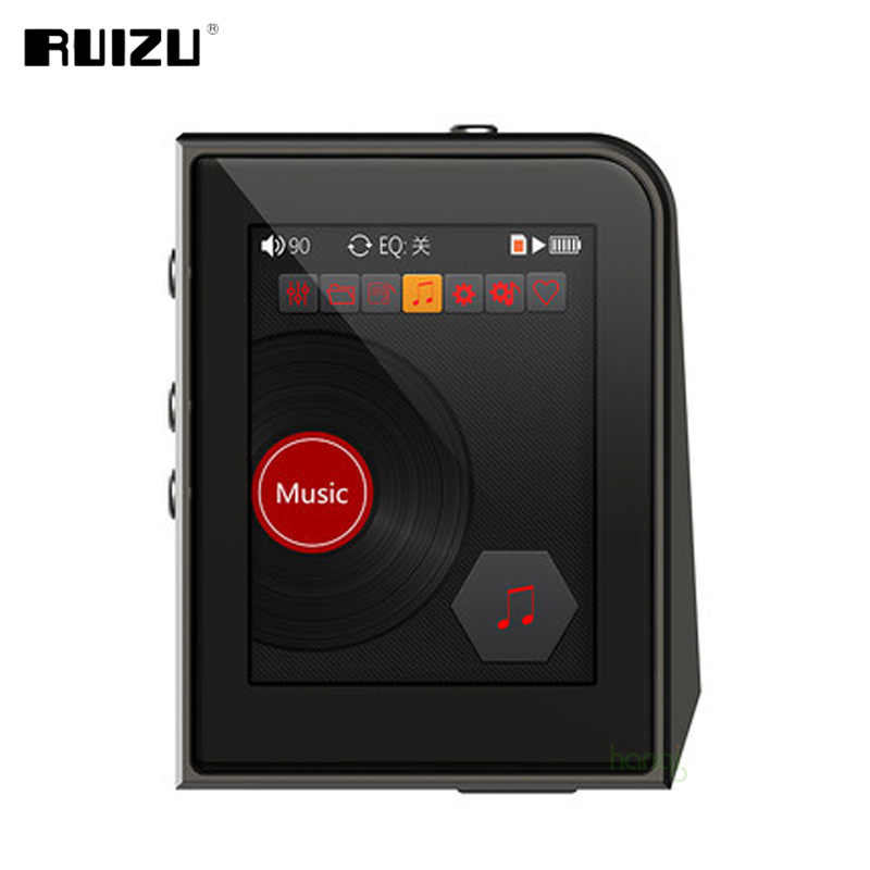 Original RUIZU A50 Hifi MP3 Music Player HD Lossless Mini Sport MP3 Player With 2.5 Inch Screen Support 128G TF Card/DSD256 2016 new style mini mp3 player sport hifi lossless music player 16gb hot sales for mobile phone pc tablet