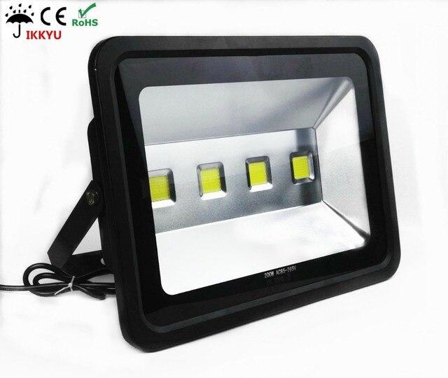 Led Flood Light Outdoor Lighting Waterproof Spotlight 200w 17000lm Equal To 800w Halogen Lamp 6500k Daylight