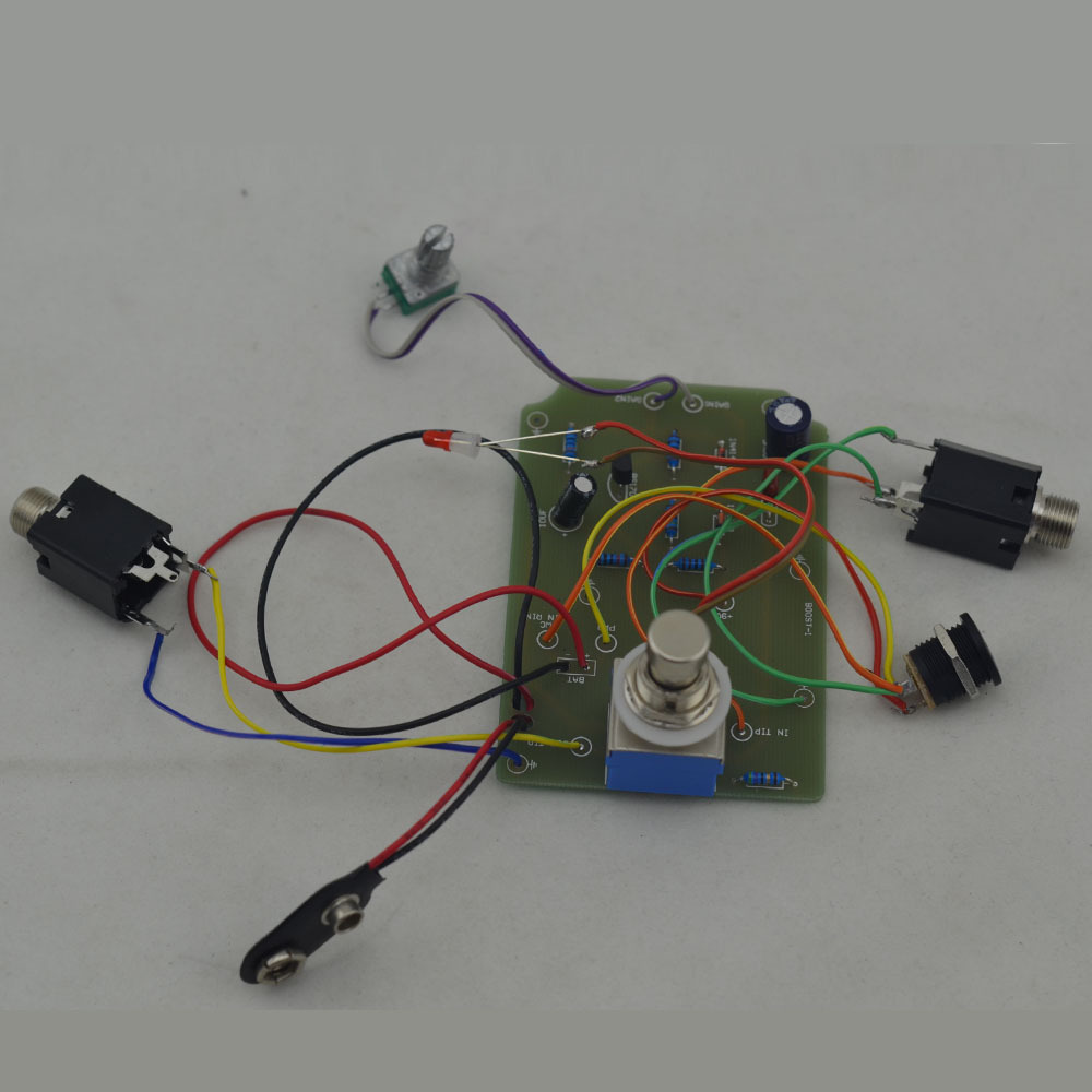 DIY musical instruments Guitar Effect Pedal Boost True Bypass BOOSTER Kits OR