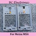 Back Housing Middle Frame Bezel For Meizu MX4  Housing Cover + Louder Speaker +Flashlight Cable +Glass lens Camera Cover Circle