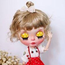 D01-P464 детская игрушка ручной работы 1/6 blyth Аксессуары куклы парик красочные маленькие волосы с шариковой головкой 1 шт