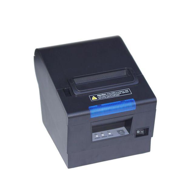 Imprimante thermique étanche 80mm, 300mm/sec, pour point de vente avec Interface USB + LAN + RS232, livraison gratuite 1