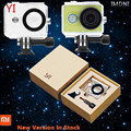 IMDNI for IN STOCK Original Xiaomi Yi Camera Waterproof Case shell 40M Diving Sports Waterproof Box xiaoyi Camera Accessories