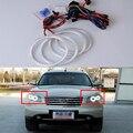 Super brilhante vermelho azul amarelo branco 3528 smd levou angel eyes anéis de halo estilo do carro para nissan INFINITI FX35 FX45 2003-2008