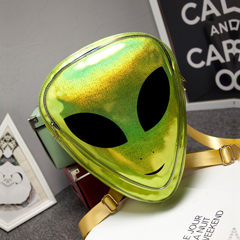 6 Types Laser 3D Aliens Backpack 7 Colors Reflection Harajuku Style School  Bag for Teenagers Transparent Backpack-in Backpacks from Luggage & Bags on  ...