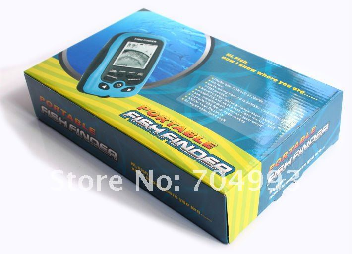 fd86ab portable ice handheld fish finder best ice fishing helper, Fish Finder