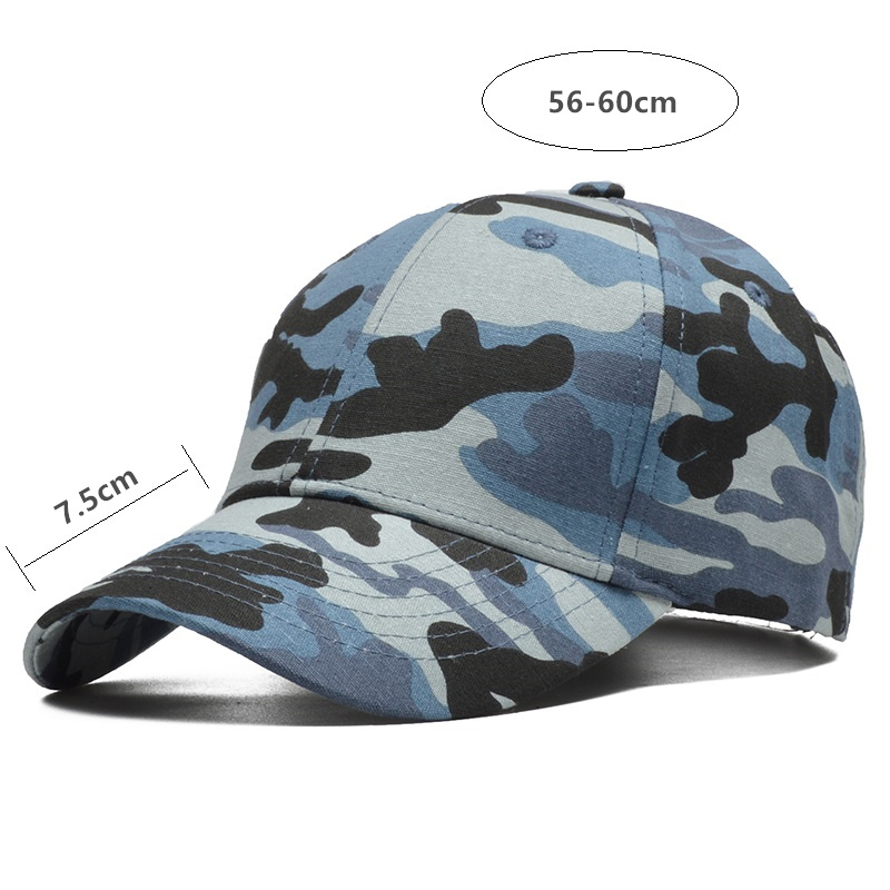 [NORTHWOOD] High Quality Brand Mens Baseball Cap Women Camouflage Cap Jungle Army Cap Gorras Para Hombre Cotton Camo Trucker Cap