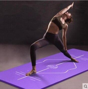 1850mm*800mm*15mm Mattress Anti-Tear Stripes Non-slip Fitness Mat Yoga Mat Gym Keep Fit Pad Exercise Lose Weight Cushion mattress