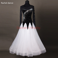 Women Ladies Standard Ballroom Dance Costume sexy latin Competition Dress Figure Skating Dress Lady Latin Ballroom dance dresses