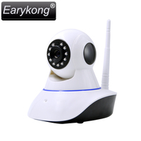 Wifi IP Camera Alarm System Network Alarm Support Android IOS APP Support 433MHz Wireless Detector Can