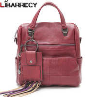 ファッションバックパック女性シンプルな Pu レザー女性のためのバッグ大容量旅行バックパック女性嚢
