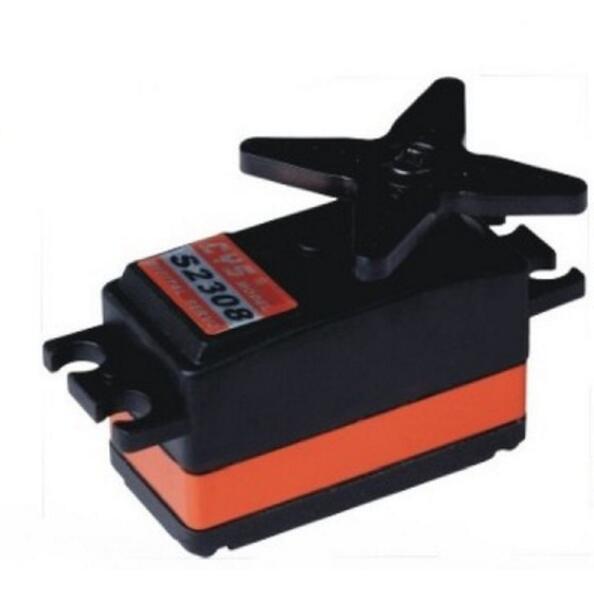 CYS S2308 numérique métal 50G 0.06sec 9 kg sans noyau rapide Servo, atterrissage aile dérapage