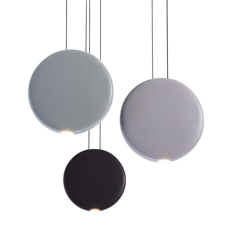 Modern Art Metals Round Pendant Lamp Nordic Simple Dining Table Bar Warm White Pendant Lights AC90-265V Input yallo kids
