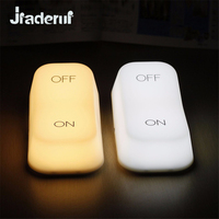 Jiaderui Creative Vintage Switch Modeling LED Night Light Lamp Gravity Induction ON OFF Switch Lamp For