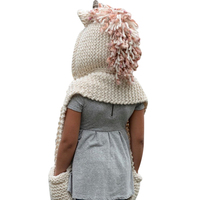 Autumn Winter Baby Knitted Wool Hat Caps For Girls Boys Crochet Cute Baby Caps Kids Hats