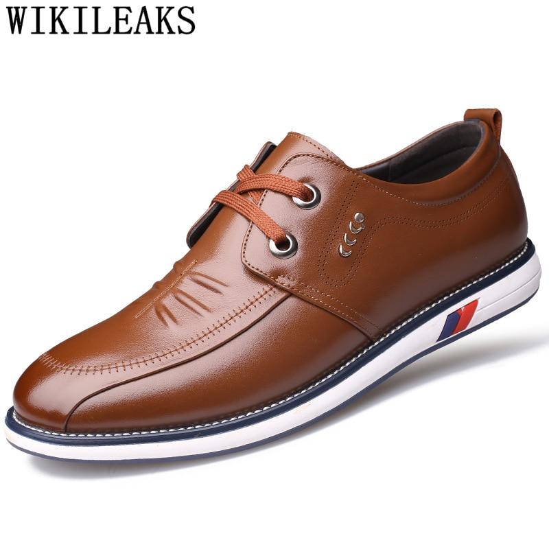 Quente Luxo Qualidade Bona Homens Marca Casuais Adulto Dos Tenis De marrom Alta Preto Grife Genuíno Mens Sapatos Masculino Couro Venda vpwYwq