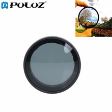 PULUZ Proffesional Lens Filter ND Filter for Xiaomi Xiaoyi Yi II 4K 4K+Sport Action Camera Accessories